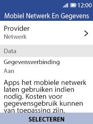 Nokia 8110 - Bellen - in het buitenland - Stap 5