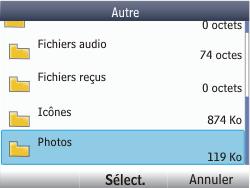 Nokia Asha 302 - E-mail - Envoi d