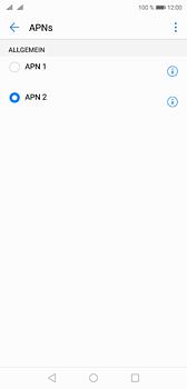 Huawei P20 - Internet - Apn-Einstellungen - 0 / 0