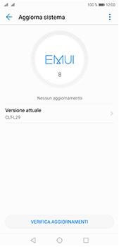 Huawei P20 Pro - Software - Installazione degli aggiornamenti software - Fase 6
