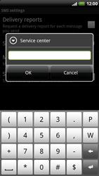 HTC X515m EVO 3D - SMS - Manual configuration - Step 7