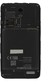 Alcatel Pop S3 - SIM-Karte - Einlegen - 3 / 6