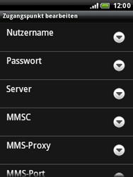 HTC A3333 Wildfire - MMS - Manuelle Konfiguration - Schritt 9