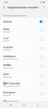 Samsung Galaxy S20 5G - Startanleitung - So fügen Sie eine Tastatursprache hinzu - Schritt 11