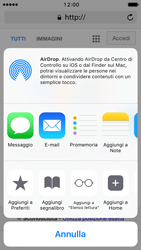 Apple iPhone 5s iOS 10 - Internet e roaming dati - Uso di Internet - Fase 17