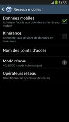 Samsung Galaxy S 4 LTE - Réseau - Sélection manuelle du réseau - Étape 6
