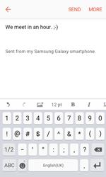 Samsung G389 Galaxy Xcover 3 VE - E-mail - Sending emails - Step 10