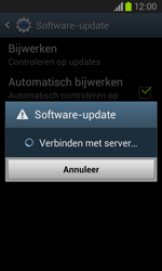 Samsung I8260 Galaxy Core - Software update - update installeren zonder PC - Stap 6