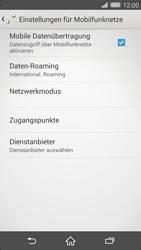 Sony Xperia Z2 - Ausland - Im Ausland surfen – Datenroaming - Schritt 11