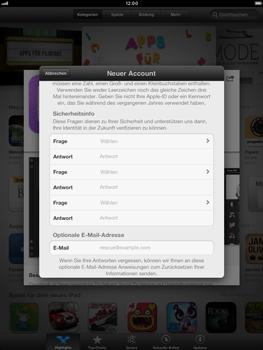 Apple iPad mini - Apps - Konto anlegen und einrichten - 14 / 21