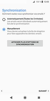 Sony Xperia XZ2 - E-mails - Ajouter ou modifier un compte e-mail - Étape 20