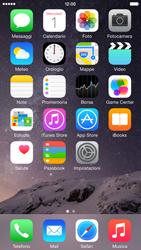 Apple iPhone 6 iOS 8 - Operazioni iniziali - Personalizzazione della schermata iniziale - Fase 8