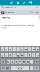 Samsung G850F Galaxy Alpha - E-mail - Envoi d