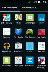 Alcatel OT-4009D Pixi 3 (3.5) - Apps - Konto anlegen und einrichten - Schritt 3