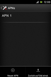 Sony Xperia E - MMS - Manuelle Konfiguration - Schritt 8