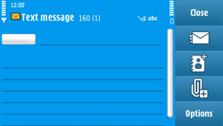 Nokia N97 - MMS - Sending pictures - Step 6