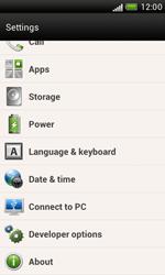 HTC Desire X - Software - Installing software updates - Step 6