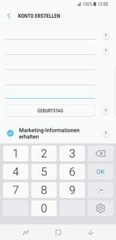 Samsung Galaxy S8 - Datenschutz und Sicherheit - Samsung einrichten - 11 / 18