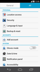 Huawei Ascend P6 - Mobile phone - Resetting to factory settings - Step 5