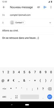 Google Pixel 3 - E-mails - Envoyer un e-mail - Étape 9