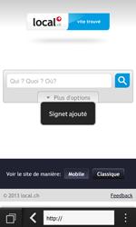 BlackBerry Z10 - Internet et roaming de données - Navigation sur Internet - Étape 11