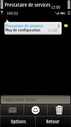 Nokia E7-00 - MMS - configuration automatique - Étape 4