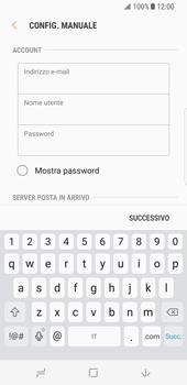 Samsung Galaxy S8 - E-mail - configurazione manuale - Fase 9