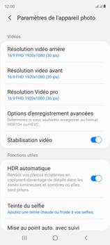 Samsung Galaxy S20 FE - Photos, vidéos, musique - Créer une vidéo - Étape 8