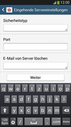 Samsung Galaxy S 4 Mini LTE - E-Mail - Manuelle Konfiguration - Schritt 9