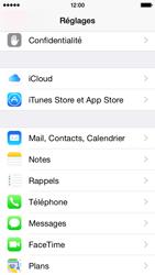 Apple iPhone 5s (iOS 8) - E-mails - Ajouter ou modifier un compte e-mail - Étape 3