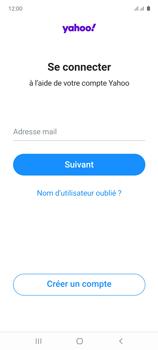 Samsung Galaxy Note 10 Lite - E-mails - Ajouter ou modifier votre compte Yahoo - Étape 9