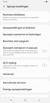 Samsung Galaxy S8+ - Android Pie (SM-G955F) - Voicemail - Handmatig instellen - Stap 6