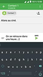 Alcatel U5 - Contact, Appels, SMS/MMS - Envoyer un MMS - Étape 14