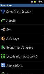 Samsung I8160 Galaxy Ace II - Messagerie vocale - Configuration manuelle - Étape 4