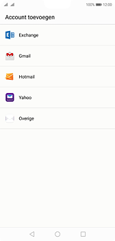 Huawei P20 - e-mail - handmatig instellen - stap 4