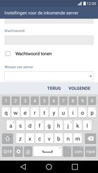 LG K10 4G - E-mail - Account instellen (POP3 zonder SMTP-verificatie) - Stap 12