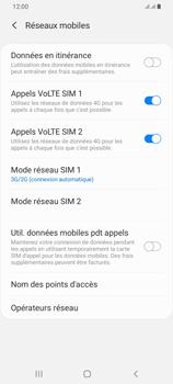 Samsung Galaxy A42 5G - Internet et connexion - Activer la 4G - Étape 6