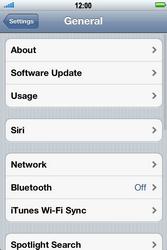 Apple iPhone 4 S - Internet - Manual configuration - Step 4