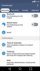 LG G4c - Netzwerk - Netzwerkeinstellungen ändern - 0 / 0