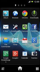 Sony Xperia J - Internet und Datenroaming - Verwenden des Internets - Schritt 3
