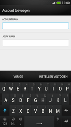 HTC One Mini - E-mail - Account instellen (IMAP met SMTP-verificatie) - Stap 19