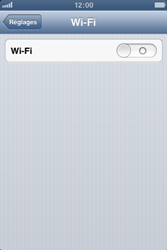 Apple iPhone 3GS - WiFi - Configuration du WiFi - Étape 6