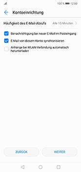 Huawei P20 Lite - E-Mail - 032b. Email wizard - Yahoo - Schritt 7