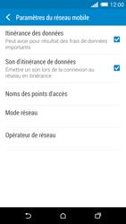 HTC One (M8) - Aller plus loin - Désactiver les données à l'étranger - Étape 5