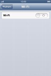 Apple iPhone 4S - WiFi - Configuration du WiFi - Étape 4