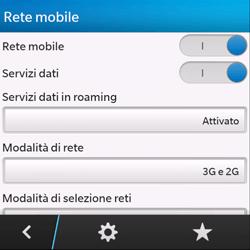 BlackBerry Q10 - Internet e roaming dati - Disattivazione del roaming dati - Fase 6
