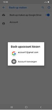 Samsung Galaxy A10 - toestel resetten - back-up maken met jouw account - stap 11