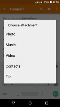 Acer Liquid Z630 - E-mail - Sending emails - Step 10