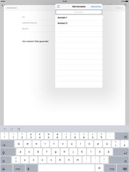 Apple iPad Pro 12.9 inch - E-Mail - E-Mail versenden - Schritt 5