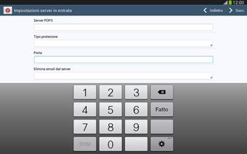 Samsung Galaxy Tab 3 10-1 LTE - E-mail - configurazione manuale - Fase 10